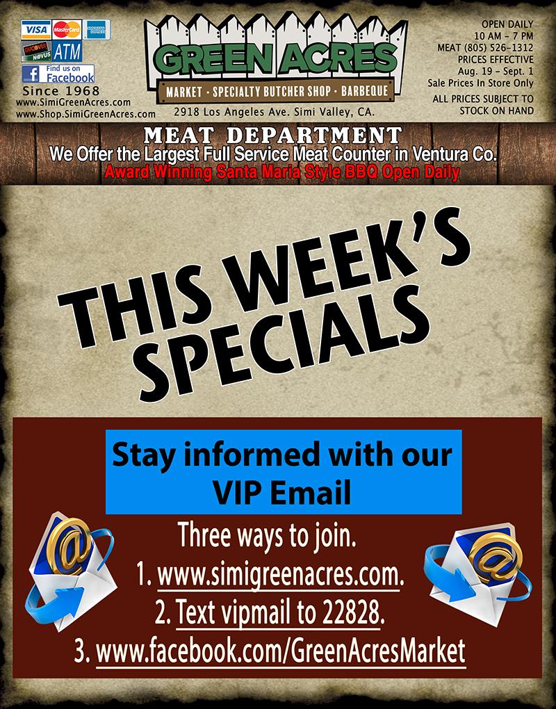 Weekly Ad 7-22-21